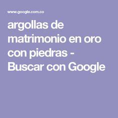 argollas de matrimonio en oro con piedras - Buscar con Google