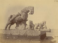 Sun Temple of Konark from Archaeological Survey of India Collections - 1890 - Part 2 - Old Indian Photos