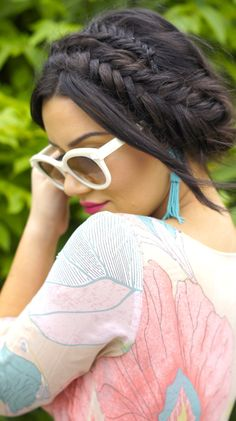 0cfa16611e5b Style me chic by priscilla ventura - Bohemian summer chic outfit from  @Chicwish hair fishtail