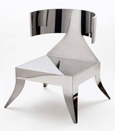 Metal Stain Less Steel Chair Design