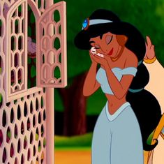 *JASMINE ~ Aladdin, 1992 I would totally pretend to let birds out of a cage when I was little lol Bishop Walt Disney, Disney Films, Disney And Dreamworks, Disney Love, Disney Magic, Disney Art, Disney Pixar, Disney Characters, Disney Princesses
