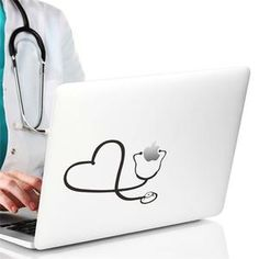 Cheap stickers for, Buy Quality vinyl stickers directly from China wall decals Suppliers: creative stethoscope vinyl stickers for pad computer decoration diy love heart pattern wall decals mural art nurse doctor gift Mirror Wall Stickers, Window Stickers, Wall Decal Sticker, Vinyl Decals, Wall Vinyl, Wall Art, Fridge Stickers, Floor Stickers, Art Mural