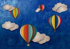 Air balloon - Portada de album de fotos