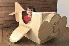 21 fun toys you can make with a cardboard box!
