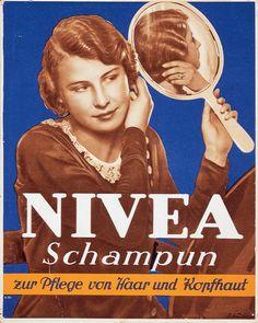NIVEA Retroanzeige - 1931. #nivea #retro