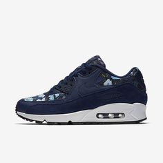 on sale 5ce9a 0c116 Chaussure Nike Air Max 90 Pas Cher Femme Se Bleu Binaire Bleu Lune Blanc  Sommet Bleu