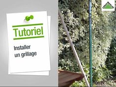 Comment installer un grillage ? Leroy Merlin - YouTube