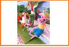 MieksCreaties: gratis patronen van kikker en vriendjes