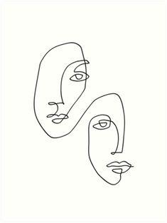 Face Outline, Outline Art, Outline Drawings, Art Drawings Sketches, Dress Sketches, Tattoo Sketches, Tattoo Drawings, Line Art Design, Minimalist Drawing