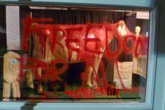 "Carnivores retaliate for Iowa ""butter cow"" desecration. #atrocities #satire"