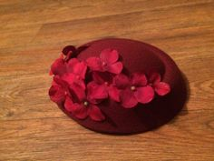 1940's pillbox style fascinator hat by MoonBabesCrafts on Etsy