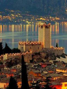 Lake Garda-Italy.