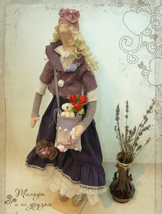 Tilda dolls, angels tilde and their friends - bunnies, cats and bears