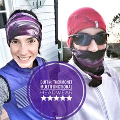 The BUFFⓇ Thermonet multifunctional headwear (in the Pantone #coloroftheyear ) is my go-to winter Running item! #bibchat #BUFF #running #bibravepro #run