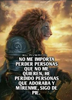 No me importa. Frida Quotes, Self Quotes, No Me Importa, Positive Attitude, Lion, Like4like, Positivity, Animals, Gandhi