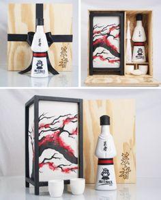 Оригинальная упаковка! Сакэ Geisha.