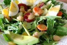 Arugula Salad with D