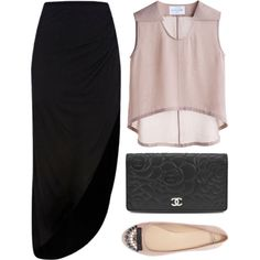 Tell me more by louisesuxx on Polyvore featuring River Island, Zara, Chanel and Bruno Pieters
