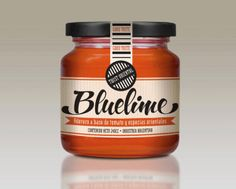 Bluelime is a soon-to-be-released food dressing line. Together with Packaging Designer Josefina Alvarez we designed the identity, logotype and new face of the product. Cookie Packaging, Food Packaging Design, Brand Packaging, Packaging Ideas, Jam Label, Honey Label, Spice Labels, Food Labels, Organic Packaging