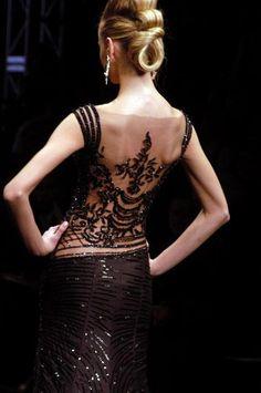 beautiful back detailing