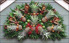 Traditional all natural Williamsburg, Virginia Holiday Decorations.