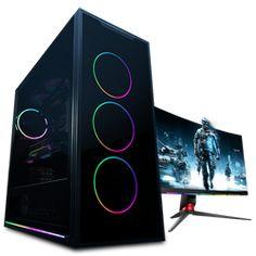 Buy 10th Gen Core i9 10900 5.2GHz RX 5500 XT 8GB Budget Gaming PC at Evetech.co.za Budget Gaming Pc, Drive Bay, Mini Itx, Gaming Setup, Logitech, Core, Usb, Advice, Tips