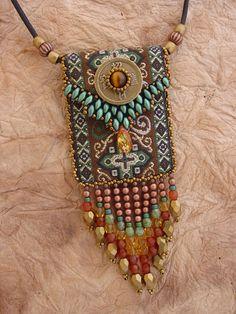 Ribbon Bag KIT in Green (95.00 USD) by HeidiKummliDesigns - handmade - jewelry - jewellery - artisan - etsy