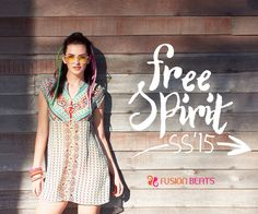 Summers can't be more perfect. Feel the power and show your tribal side to the world. #FreeSpirit #SS15 #TribalMix