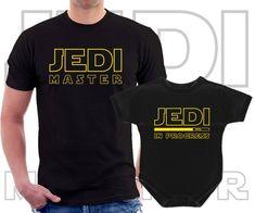 Star Wars Jedi sur le thème Père Oncle Father/'s Day Birthday Baby Grow Babysuit