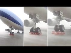 "Video ""Soudelor"" in Taiwan: Taifun lässt Boeing 747 abheben 