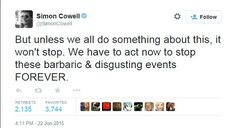 His series of tweets slamming the festival each received thousands of shares and retweets ...