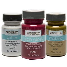 Waverly ® Inspirations Specialty Acrylic Paints | Plaid Enterprises