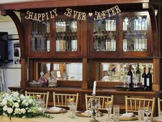 SHIPS PRIORITY. Happily Ever After Banner. Bridal by 5280Bliss
