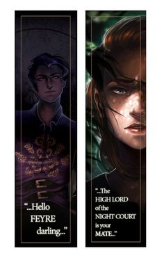 Image result for a court of mist and fury bookmark