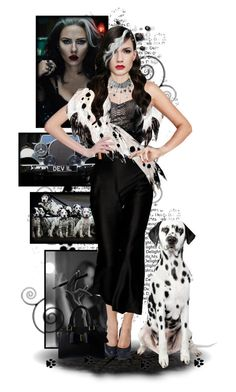 """"""".Cruella De Vil."""" by the-sunflower ❤ liked on Polyvore featuring arte"""