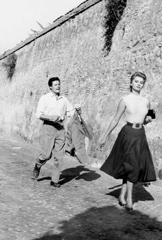 Marcello Mastroianni and Sophia Loren in Peccato che sia una canaglia/ Too Bad She's Bad, 1954.