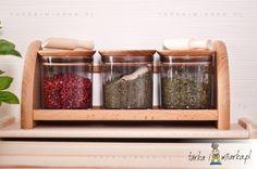 Półka i pojemniki kuchenne 3 x 250 ml Practic