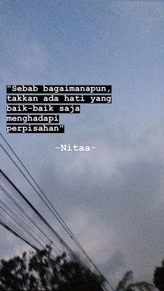 Tumblr Quotes, Teen Quotes, Life Quotes, Quotes Galau, Self Reminder, Sad Love Quotes, Quotes Indonesia, Instagram Story Ideas, Simple Words