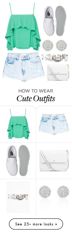 """Cute Pre-Spring Outfit :)"" by ashantiannasmith on Polyvore featuring Free People, Apiece Apart, MANGO, Vans and Tory Burch"