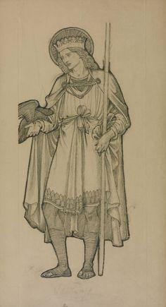Sir Edward Coley Burne-Jones, Bt, 'St Oswald' 1875
