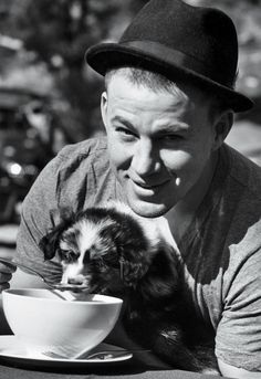 Channing and puppy... Can't get any better then that. Lol