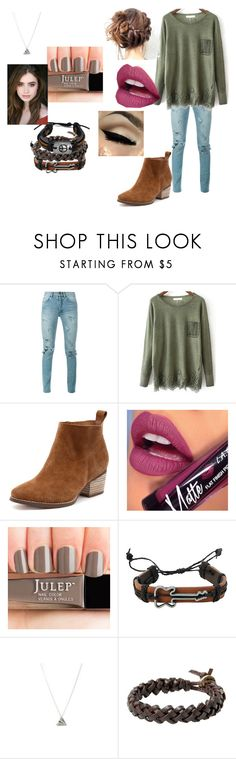 """""""Hazel"""" by nina-directioner-676 ❤ liked on Polyvore featuring Yves Saint Laurent, Fiebiger and MANGO"""