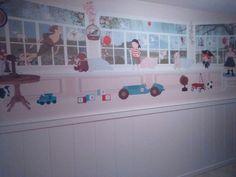 Nova habitació de Miquel i Júlia. Un paper preciós de littlehands.