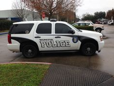 Webster Police Chevy Tahoe (Texas)