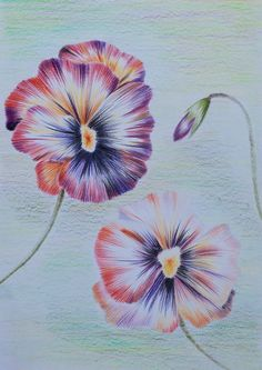 small pansies tattoos - Google Search