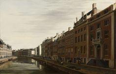 De Gouden Bocht in de Herengracht in Amsterdam vanuit het westen, Gerrit Adriaensz. Berckheyde, 1672. Collectie Rijksmuseum.