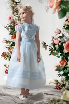 Gorgeous in Blue. Papilio Girls - Ceremony Collection