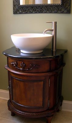 Modern sink, country concept of washing bowl. Vessel Sink Bathroom, Downstairs Bathroom, Master Bathroom, Modern Sink, Everything Is Awesome, Guest Bath, Powder Room, Home And Garden, Bath Time