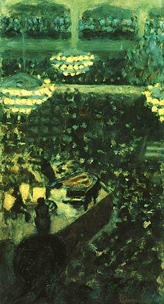 Pierre Bonnard / At the Concert 1895