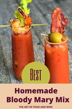 Homemade Bloody Mary Mix, Bloody Mary Recipes, Best Bloody Mary Recipe Spicy, Bloody Mary Juice Recipe, Best Bloody Mary Mix, Spicy Recipes, Wine Recipes, Cooking Recipes, Yummy Drinks